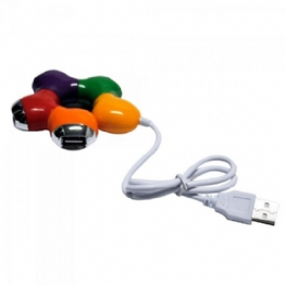 HUB USB 4 PORTAS COLOR - 23073