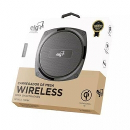 CARREGADOR PORTATIL ELG WIRELESS WQ1BK - 26056