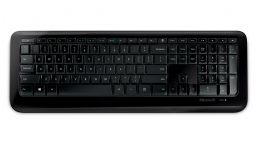 TECLADO USB WIRELESS 850 PRETO - 23982