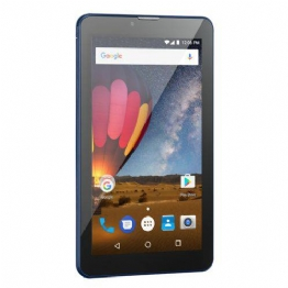 Tablet 7' Multilaser M7-3G Plus Preto/Azul NB270 - Android 7.0, 2 Chips, Q.core, 1Gb Ram, Mem 8Gb. - 24711