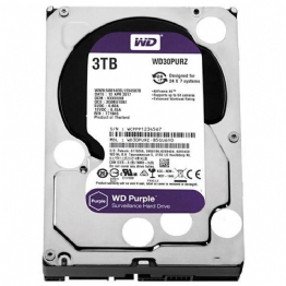 HD SATA II 3000GB WD PURPLE CFTV - 23631