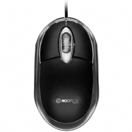 MOUSE OPTICO USB PRETO - 24853