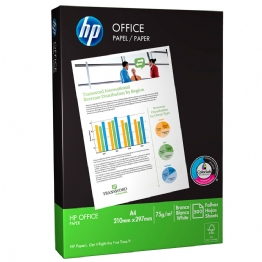 Papel sulfite 75g 210x297 A4 HP Office Ipaper PT 500 Folhas - 24449