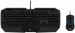 TECLADO E MOUSE USB GAMING MEMB GK1000 PTO HP - 26875