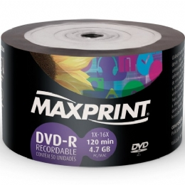 DVD-R 4.7GB 16X ( AVULSO ) - 22467