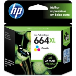 CARTUCHO HP 664XL COLOR - 23234