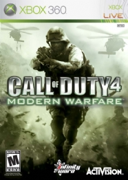 JOGO P/ X-BOX CALL OF DUTY 4 MODERN WARFARE - 23697