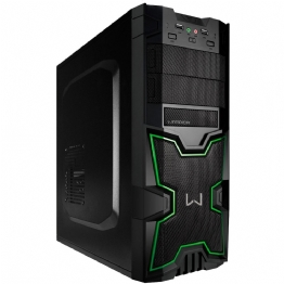 GABINETE GAMER WARRIOR 2 BAIAS - 23907