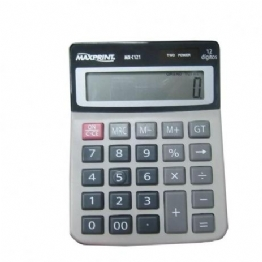 Calculadora de mesa maxprint 12 digitos mx-c121 bege - 754609 - 24475