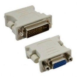 Adaptador DVI-I (DUAL LINK DIGITAl e ANALÓGICO) 24 + 5 X VGA Fêmea - Empire - 25680