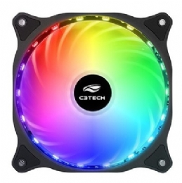 COOLER FAN F9-L150RGB STORM 12CM 18LED C3T - 26869