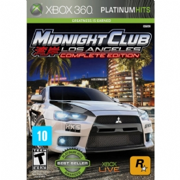 JOGO P/ X-BOX MIDNIGTH CLUB LOS ANGELES COMPLETE - 23699