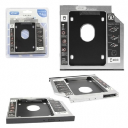 CASE ADAPTADOR UNIVERSAL DVD PARA HD/SSD 9,5MM - 26144