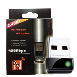 ADAPTADOR USB WIRELESS 900MBPS - 24706