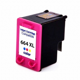 CARTUCHO COMPATIVEL HP 664XL COLOR - 12ML - 25747
