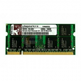 MEMORIA DDR2 1GB 800 PARA NOTEBOOK PC2 6400 - KINGSTON - 17836