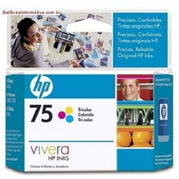 CARTUCHO COLOR 75 6ML CB337WI - HP - 16483