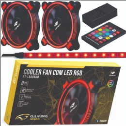 Cooler Fan F7-L500RGB Kit C3Tech - 26448