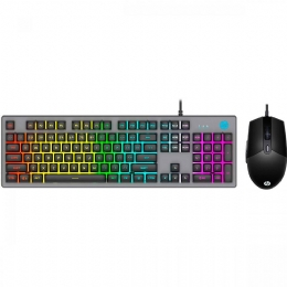 KIT TECL+MOUSE USB GAMING MEMB KM300F PTO HP - 25975