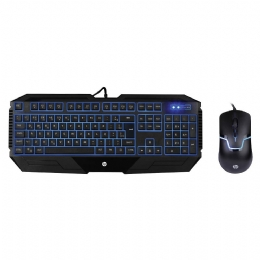 KIT TECL+MOUSE USB GAMING MEMB GK1100 PTO HP - 25973