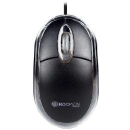 MOUSE C/FIO OPTICO MS-035P HOOPSON - 26046