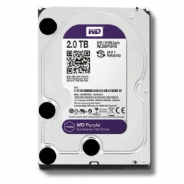 HD SATA II 2000GB WESTERN DIGITAL PURPLE - 23525