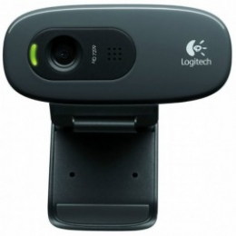 WEBCAM USB C/MICROFONE C270 HD  PRETO - 20709