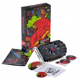 PLACA DE VIDEO AMD RADEON RX 550 4GB GDDR5 128 BITS SINGLE FAN - GRAFFITI SERIES - 26711X